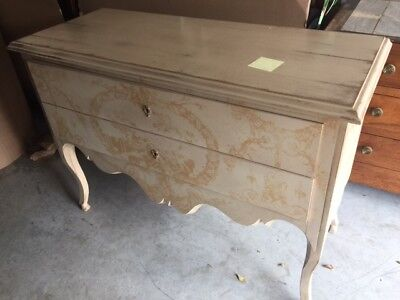 Antique Style Reproduction French Style Chest of Drawers