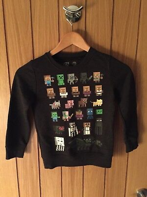 Minecraft Next Mojang Boys Jumper 6 Years