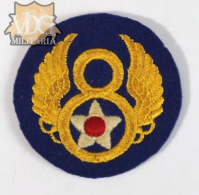 WW2 US 8th Air Force British Foreign Made Felt Wool Variant Patch