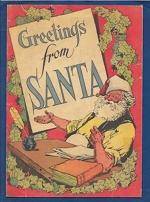 March of Comics #48 Greeting From Santa - Promotional Giveaway Christmas Comic