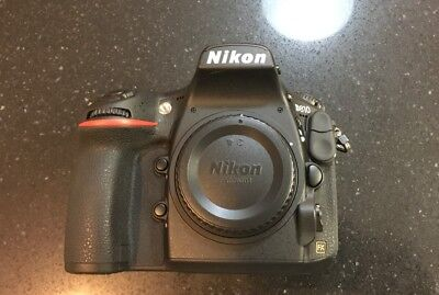Nikon D810 36.3MP Digital SLR Camera Body barely used, low actuations D 810