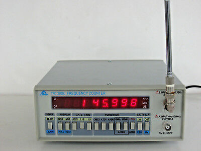 TFC-2700L 2700 MHz Frequency Counter and Antenna HF VHF UHF Microwave