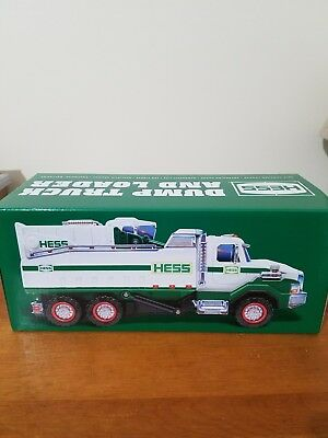 2017 Hess Toy Truck- dump truck & loader- Brand New Unopened Box A