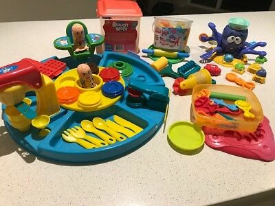 Play Dough set, Animals activities bucket. Pizza set and more....assorted