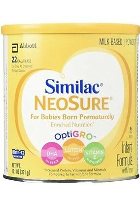 9 - 13.1oz Cans Of Similac NeoSure Expert Care with DHA/ARA - NEW