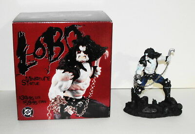 LOBO Hand Painted Cold Cast Miniature Statue by DC Direct