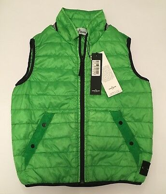 Stone Island Boy's Kids Garment Dyed Down Jacket Brand New With Tags 7-8 Years