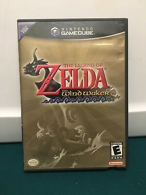 Legend of Zelda: The Wind Waker complete (Nintendo GameCube) FREE SHIP