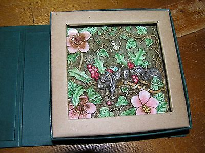 Used Picturesque Tile Figurines from Harmony Kingdom Byron's Secret Garden