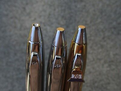 Lot of 3 Vintage 1970's Astropoint Ballpoint Pens and Pencil