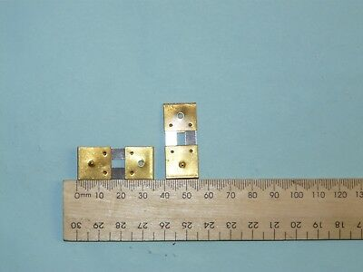 Antique Clock Parts 2 New Suspension Springs for European Wall Long Clocks