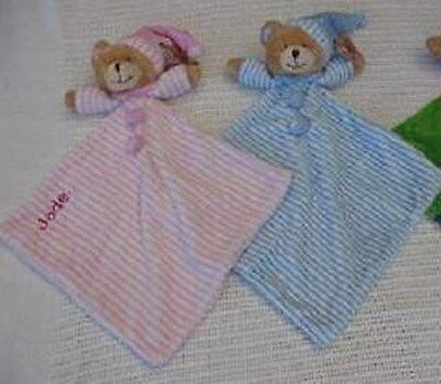 Personalised Baby Bear Security 'Blankie' toy/comforter