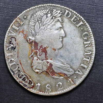 1821 8 Reales from Mexico