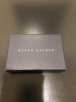 NEW RALPH LAUREN Polo Bracelet Wristband Black Leather and Metal Hardware
