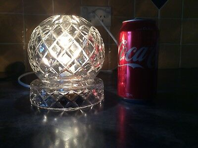 Crystal Lamp Vintage