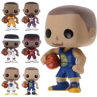 FUNKO POP Basketball Man NBA World Star PVC Action Figure Collectible Toy Gifts