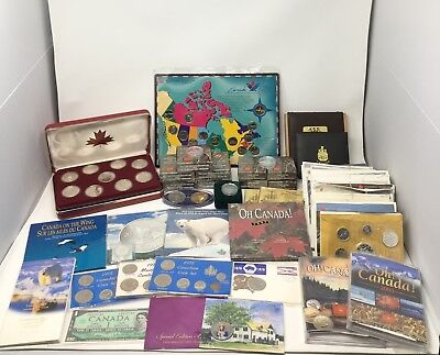 LARGE Collection of Canadian Coins! Lots of Silver, Mint & Proof-Over 13 lbs!