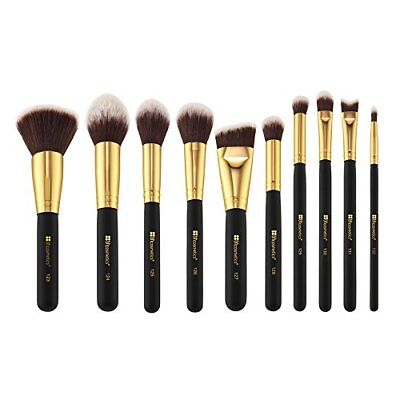 BH Cosmetics Sculpt and Blend 2 Brush Set 10 Count Brushes Makeup Tools Health