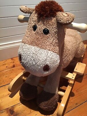 Bed Bath n' Table Soft Toy Rocking Horse