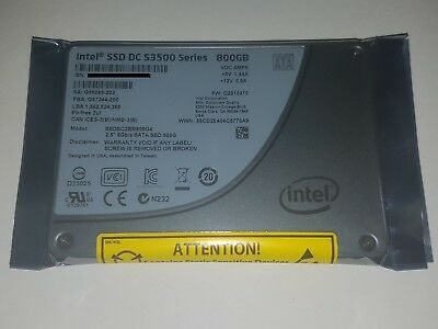 "Intel DC S3500 Series 800GB Solid State Drive 2.5"" SATA 6Gb/s Enterprise SSD"
