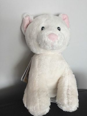 NEW Mothercare kitten cat Cuddly Baby Soft Toy Comforter plush lost spare chat