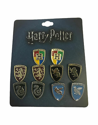 Harry Potter Badge pack House Crests new Official 10 x Metal Lapel Pin