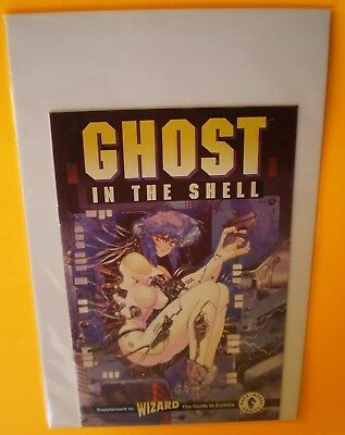FINE 1995 DARK HORSE WIZARD Ghost in the Shell #0 Ashcan Edition Comic Book