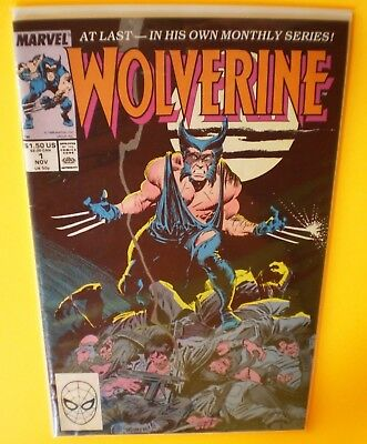 GOOD 1988 MARVEL Wolverine Ongoing Series Issue #1 Patch FREE PRIORITY SHIPPING