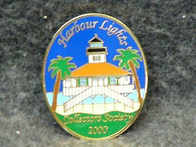 Harbor Lights Collectors Society 2000 Collectors Lapel Pin - Lighthouse