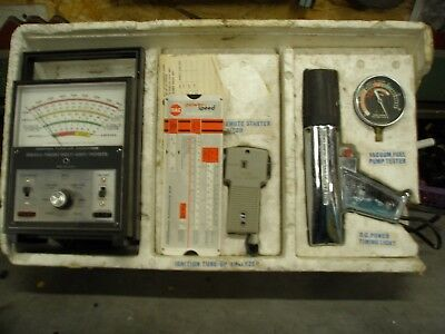 Rac Dwell/tach W/timing Lite, Pressure Gauge, And Remote Starter