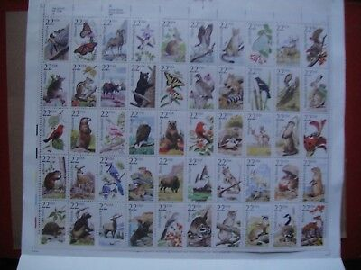 USA 1987. American Wildlife. Sheet Mint.