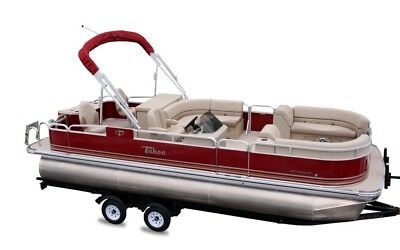 New 23 ft high end  pontoon boat with 60 Hp  and trailer