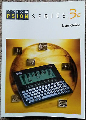 Psion Series 3c - Box, PDA hand book, User manual,& Magazine ONLY. pristine