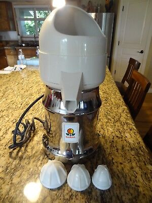 Vintage Sunkist 8-R Heavy Duty Commercial Electric Juicer LIKE NEW CONDITION!