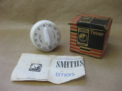 Vintage SMITHS Kitchen Timer / Ringer with Box ~ Working ~ c.1975