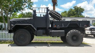 1986 Am General M923A1 4X4 5 Ton Military Truck Bobbed Out