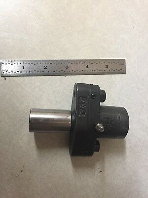 "Nice Slater Rotary Broach Tool Holder 1/2 "" Cap W/ 1"" Shank"