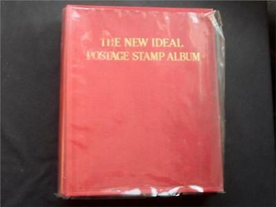 12458aj BC MINT & USED STAMP COLLECTION IN NEW IDEAL ALBUM INCL MANY CLASSICS