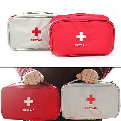 travel first aid kit bag home emergency medical survival rescue box camp tool HL