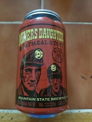 Miners Daughter Oatmeal Stout 12 oz craft beer can