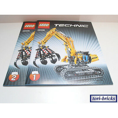 lego technik technic raupenbagger kettenbagger 42006 mit motor anleitung eur 82 10. Black Bedroom Furniture Sets. Home Design Ideas