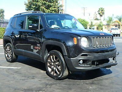 2016 Jeep Renegade 4WD 75th Anniversary 2016 Jeep Renegade 4WD 75th Anniversary Wrecked Repairable Lots of Options L@@K!