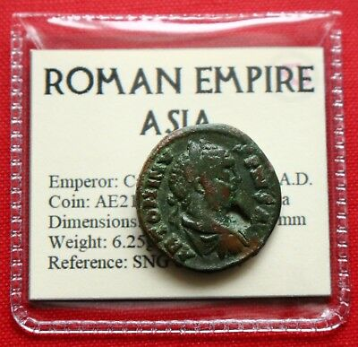 Genuine Roman Coin Caracalla AE21 Genius Parion Hadriana Pariana