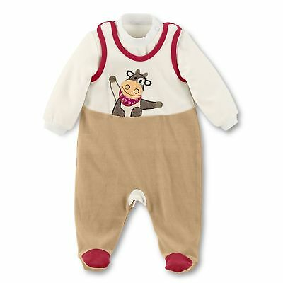 Sterntaler Baby Girls Strampler-set Nicki Karlotta Footies