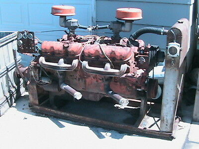 Two 702 Cubic Inch Gmc V12 Engines 2 Engines 4 000 00 Picclick