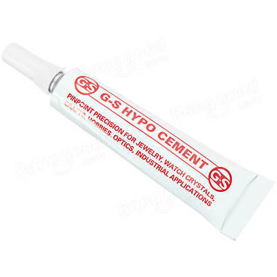 9ml G-S Hypo Cement Industrial Strength Transparent Multi-purpose Adhesives Glue