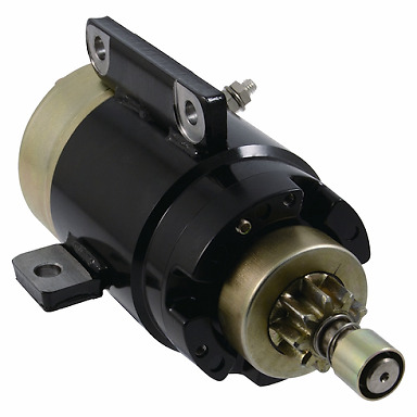 Genuine Hitachi starter motor suits Yamaha 2 stroke 75hp-90hp from 1984-2010