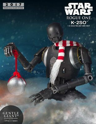 Gentle Giant Premier Guild Exclusive K-2So Deluxe Holiday Mini Bust