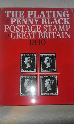 The Plating of the Penny Black postage stamp of Great Britain 1840