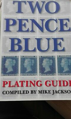 Two Pence Blue Plating Guide by Mike Jackson paperback.